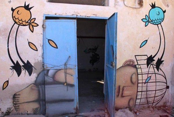 Djerbahood: le plus grand musée de street art à ciel ouvert