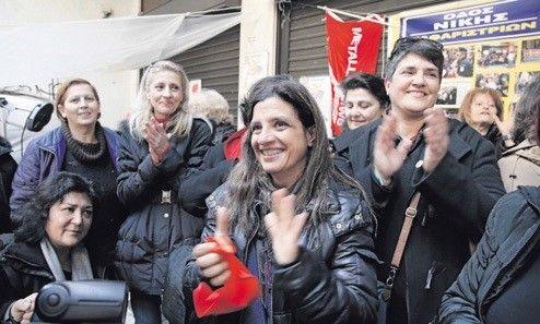 Les femmes de ménage campent toujours à Syntagma