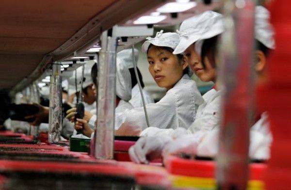 Les ouvriers chinois, trop chers, remplacés par des robots