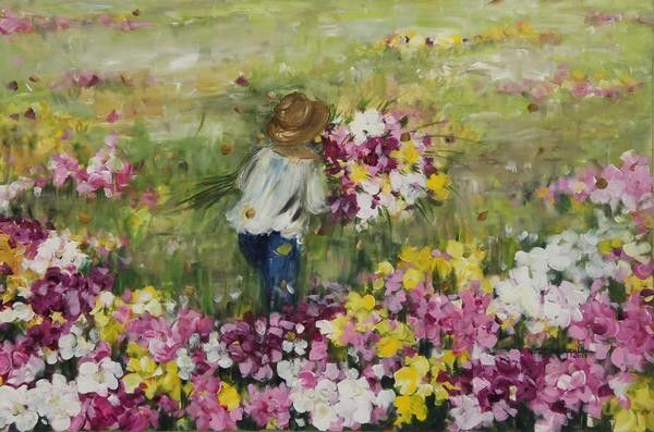 "Cristina Ippolito - Painter (""Camponeses 3)"